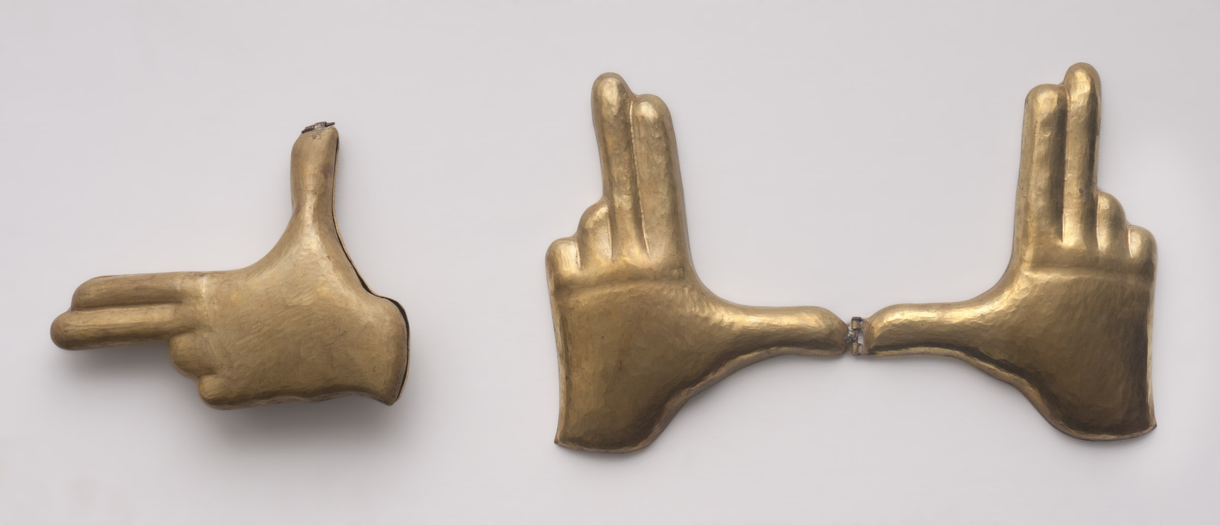 """Shreyas Karle, """"Hands Up""""  from the Museum of Fetish Objects series"""