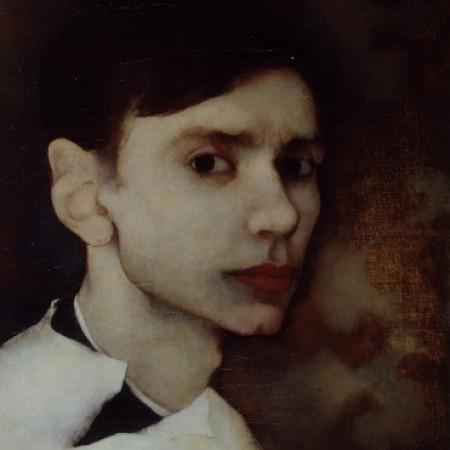 Jan Mankes, Self portrait, 1912