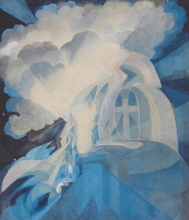 Gaganendranth Tagore, 'Resurrection'. Collection of the Samdani Art Foundation