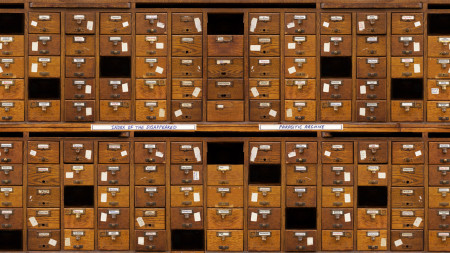 Chitra Ganesh & Mariam Ghani, 'Index of the Disappeared'. Card Catalog