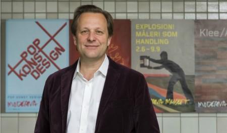 Portrait of Daniel Birnbaum, 2017 Absolut Art Award Jury President