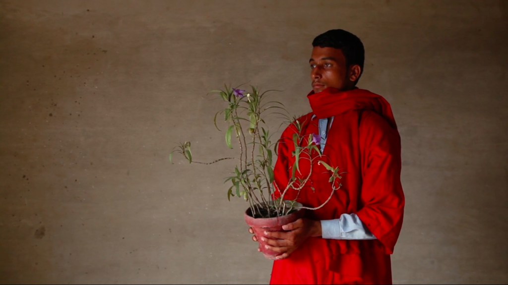 Basir Mahmood. Monument of arrival and return(still), 2016. Video. Commissioned and co-produced by Contour Biennale 8, courtesy of the artist.