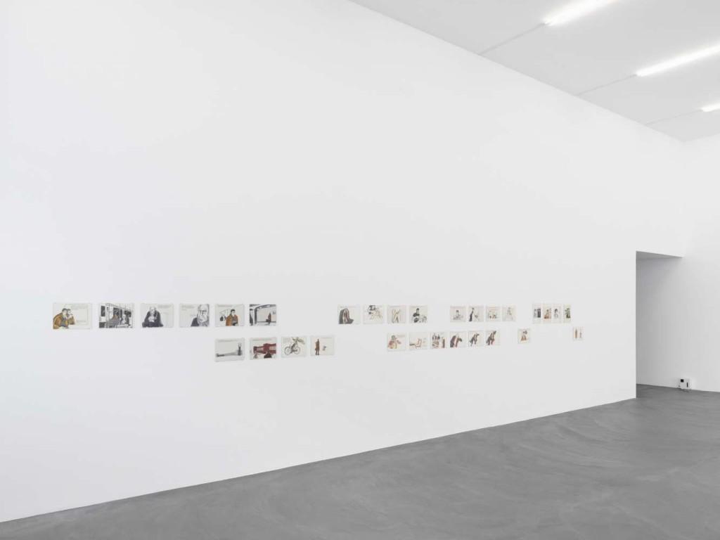 Installation view - Speak, Lokal, Kunsthalle Zurich, 2017