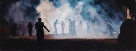 "Risham Syed ""History As Re-Present-Ation II,"" detail, 2014"
