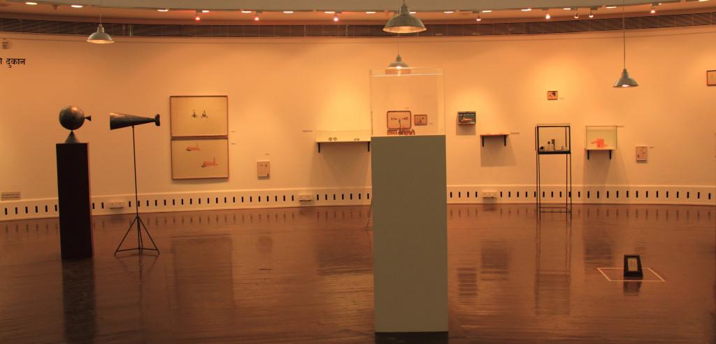 "Installation view of ""Cinema City"", Shreyas Karle"