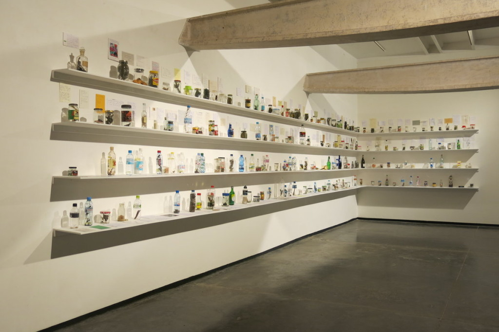 "Baptist Coelho, ""Air(Travel)"", installation view, 2006-2015"