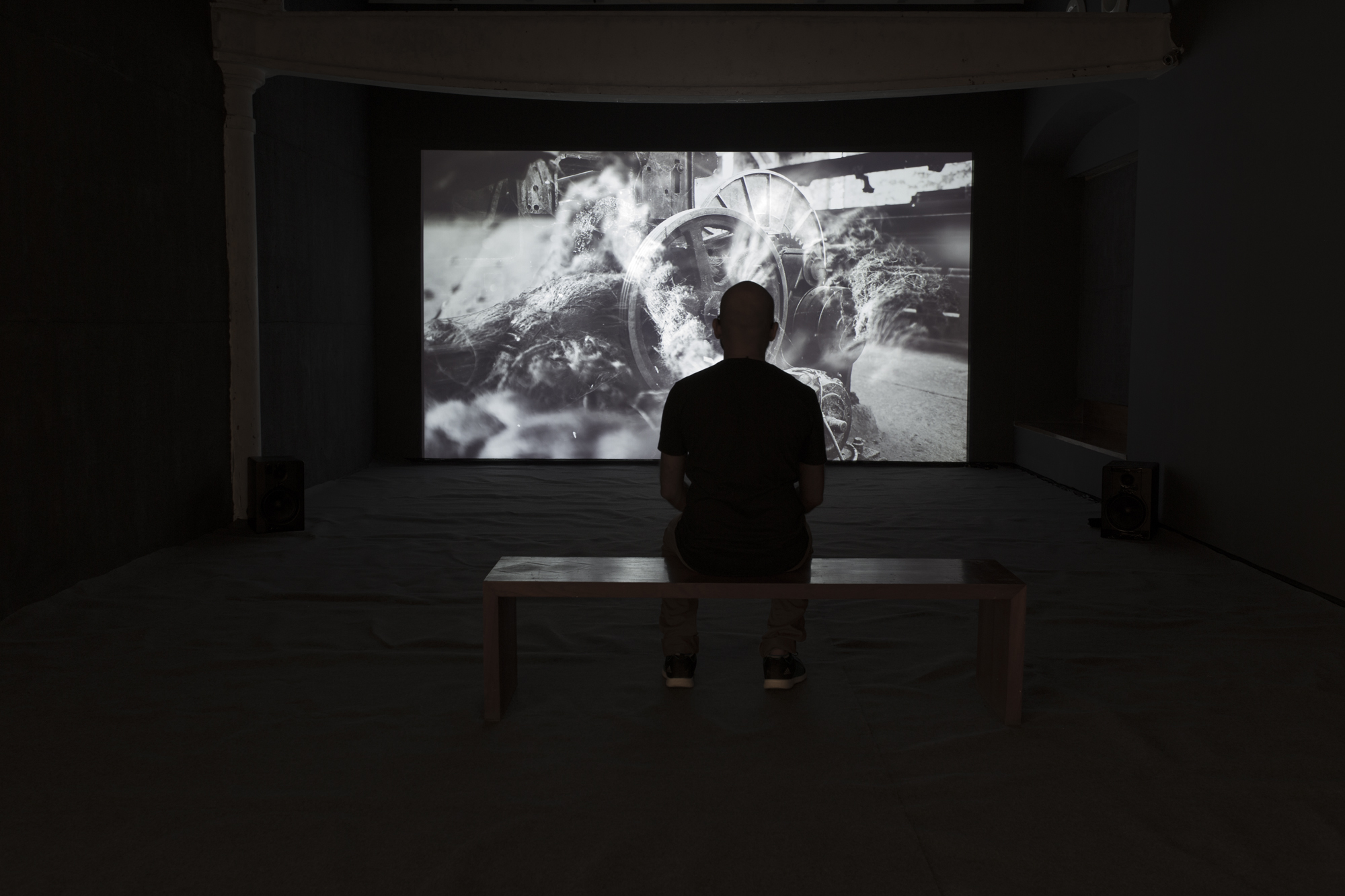 """MachineMatter"" installation view"