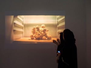 A still from Prajakta Potnis's 'the kitchen debate' Sharjah Art Foundation